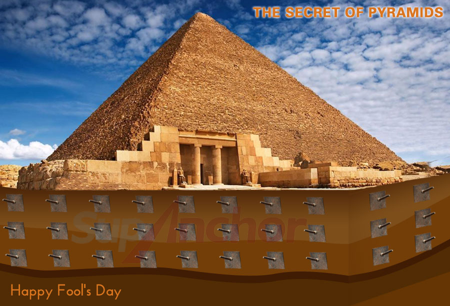 The secret of pyramids