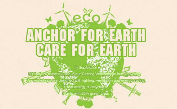 Anchor for Earth, Care for Earth.