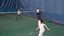 2014 celebrate National day Badminton Contest for fun